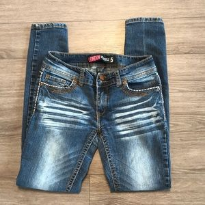 London Jeans low rise skinny fit size 5